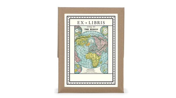 Self-Adhesive Bookplates - Maps