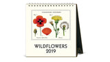 2019 Desk Calendar - Wildflowers