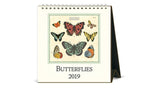 2019 Desk Calendar - Butterflies