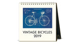 2019 Desk Calendar - Vintage Bicycles