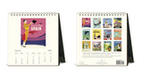 2019 Desk Calendar - Vintage Travel