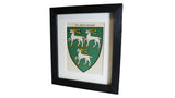 1920s Framed Oxford College Crests - Jesus