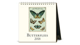 Desk Calendar 2018 - Butterflies