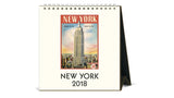 Desk Calendar 2018 - New York