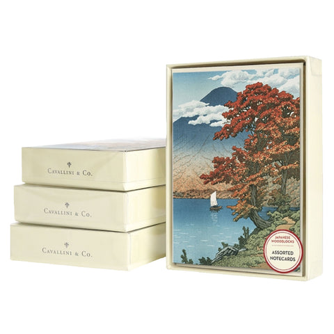 Cavallini Boxed Notecards - Japanese Woodblocks