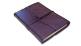 Refillable Amalfi Journal - Aubergine