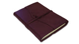 Refillable Amalfi Journal - Burgundy