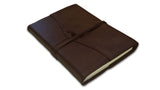 Refillable Amalfi Journal - Brown