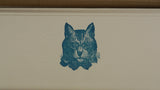 Letterpressed Correspondence Card Set - The Sophisticated Cat