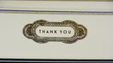 Gold Foiled Thank You Card Set - close up