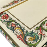 Classic Florentine Il Papiro Flat Cards and Envelopes - close up