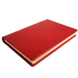 Classic Hardback Leather Journal - red