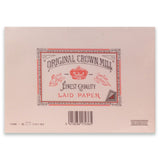 Original Crown Mill Laid Stationery
