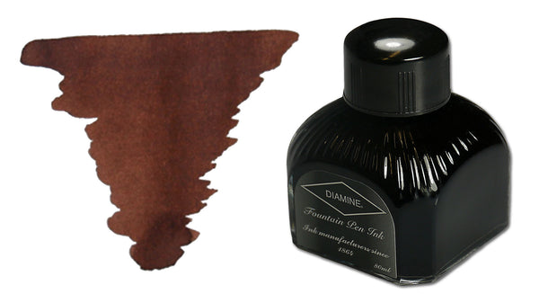 Diamine Fountain Pen Ink - Saddle Brown