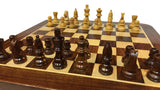 Wooden Chess Board - medium pieces