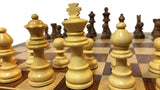 Wooden Chess Board - large pieces