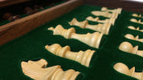 Wooden Chess Board - pieces
