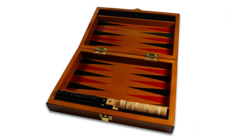 Backgammon Set - open
