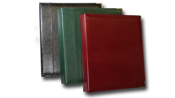 English Leather Ring Binder