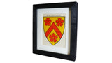 1920s Framed Oxford College Crests - All Souls