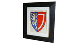 1920s Framed Oxford College Crests - Balliol