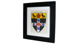 1920s Framed Oxford College Crests - Christ Church