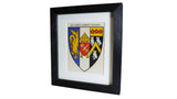 1920s Framed Oxford College Crests - Corpus Christi