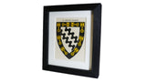 1920s Framed Oxford College Crests - Exeter