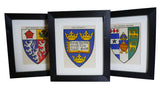 1920s Framed Oxford College Crests