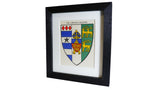 1920s Framed Oxford College Crests - Lincoln