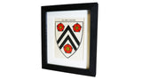 1920s Framed Oxford College Crests - New College