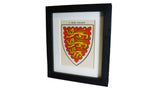 1920s Framed Oxford College Crests - Oriel