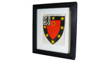 1920s Framed Oxford College Crests - St John's