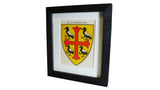 1920s Framed Oxford College Crests - St Edmund Hall