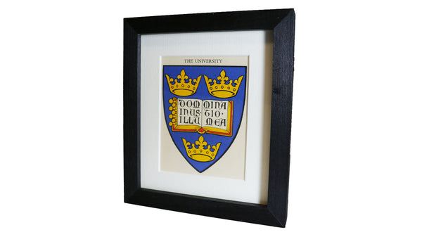 1920s Framed Oxford College Crests - The University of Oxford