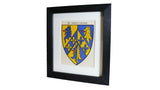 1920s Framed Oxford College Crests - Trinity