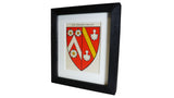 1920s Framed Oxford College Crests - Wadham