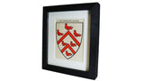 1920s Framed Oxford College Crests - Worcester