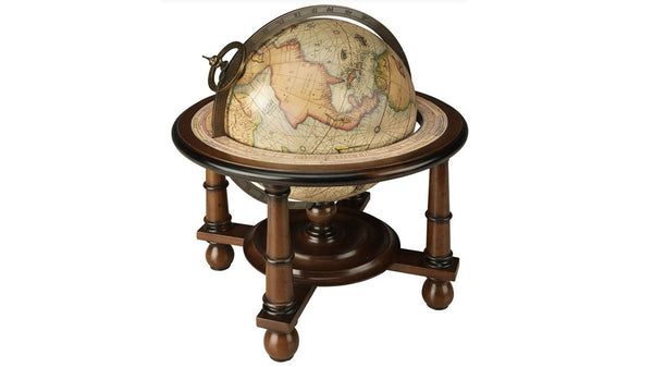 Globe on Four-Legged Stand
