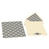 Kartos Writing Paper - 10 Sheets & 10 Envelopes - Quadrilobo
