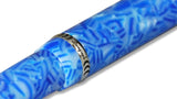Conklin Duragraph Fountain Pen - Ice Blue close up