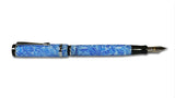 Conklin Duragraph Fountain Pen - Blue Ice