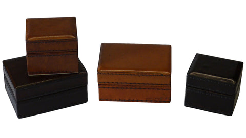 Leather Trinket Box