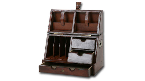 Leather Secretaire