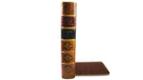 Faux Book Bookends from Scriptum