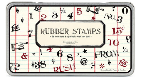 Large Rubber Stamp Set