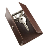 Leather Key Wallet - open