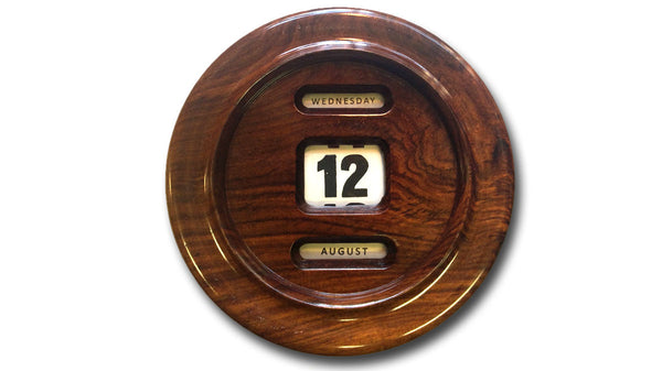 Wooden Perpetual Calendar - wall-mounted