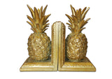 Pineapple Bookends - Gold