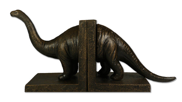 Cast Iron Brontosaurus Bookends